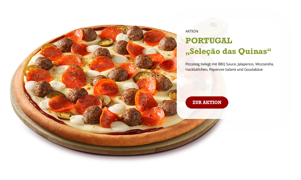 AKTIONS-PIZZA PORTUGAL